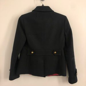 Banana Republic Jackets & Coats - BANANA REPUBLIC CROPPED PEACOAT BLACK PXS